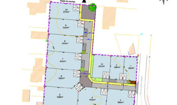 Terrain constructible Damgan 428.00 m²