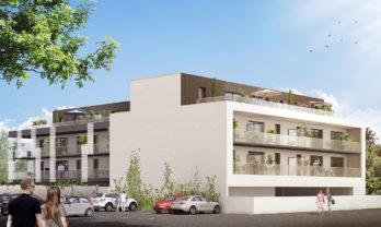 Appartement neuf T2 Séné 43.70 m²