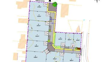 Terrain constructible Damgan 343.00 m²