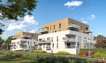 Appartement neuf T2 Saint-Avé 45.50 m²