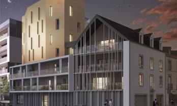 Appartement neuf T3 Vannes 76.50 m²