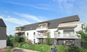 Appartement neuf T2 Belz 44.28 m²
